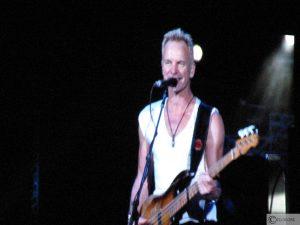 Sting tijdens Police in Amsterdam Arena (13-09-2007)