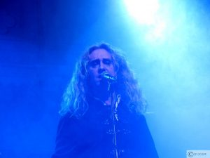Nad Sylvan tijdens Steve Hackett in Paradiso (17-04-2013)