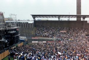 Supertramp in het Olympisch Stadion in Amsterdam 8-6-1983 (2)