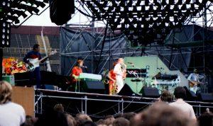 Supertramp in het Olympisch Stadion in Amsterdam 8-6-1983 (4)