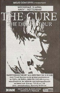 Cure Rotterdam Ahoy (19-4-2000)