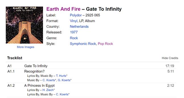 """Recognition?"" en "" A Princess In Egypt"", 7 prachtige openings minuten van ""Gate To Infinity"""