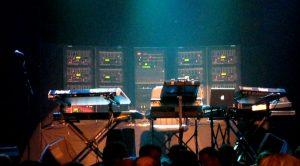 De Klaus Schulze gear in de Melkweg Amsterdam (20-09-2009)