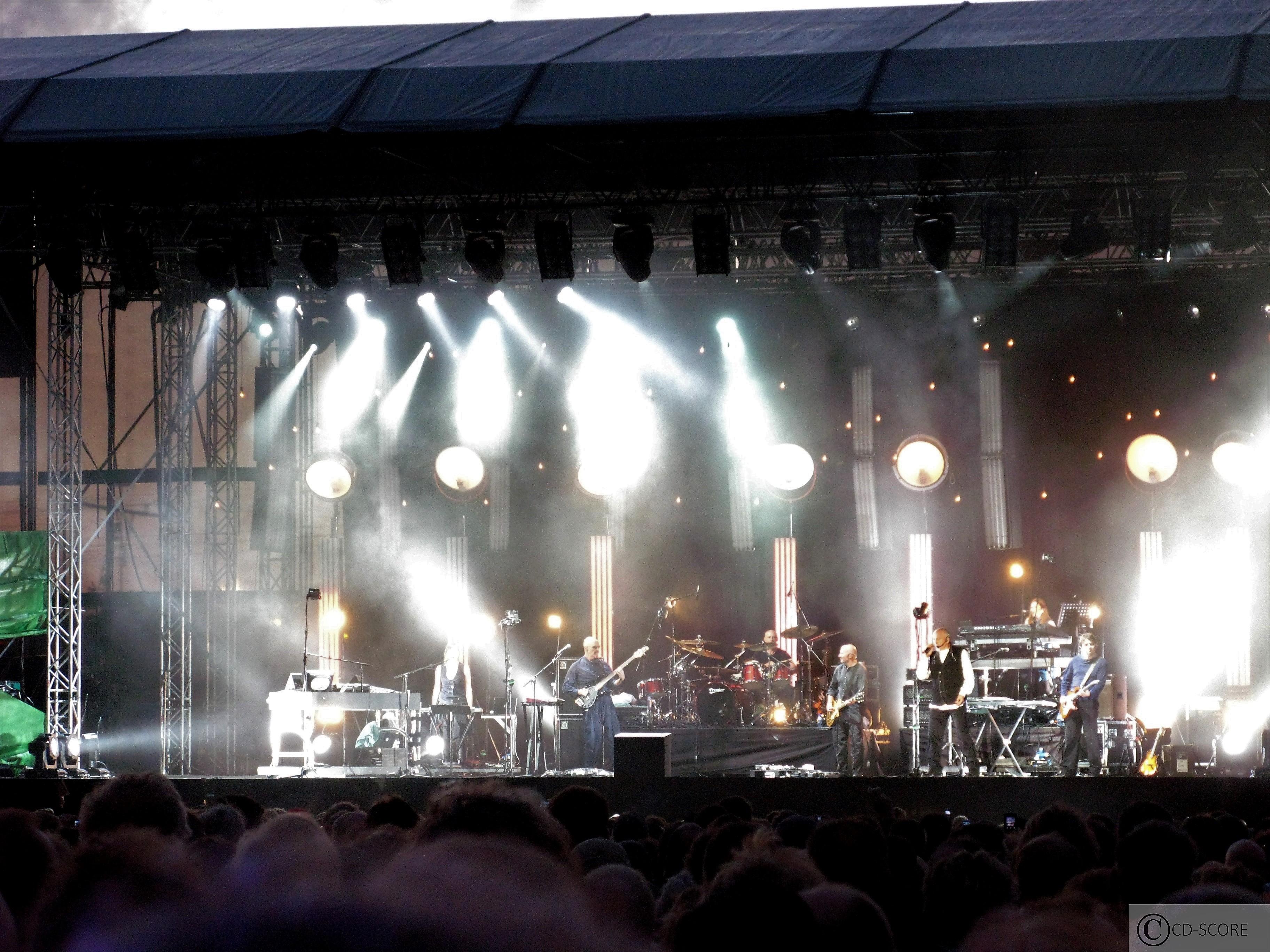 Peter Gabriel in het Westerpark Amsterdam (29-06-2007)