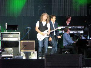 Rob Winter en Marco Borsato in het Westerpark (09-07-2010)