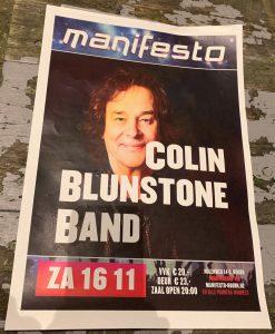 Colin Blunstone in Manifesto (16-11-2019)