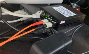 Glasvezel naar ethernet converter